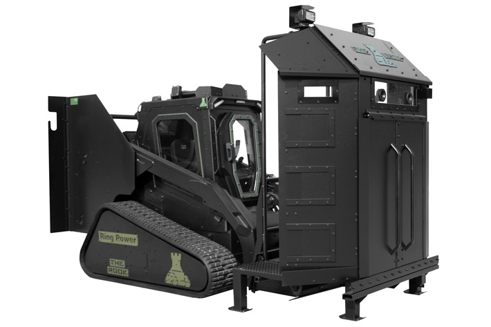armored deployment platform