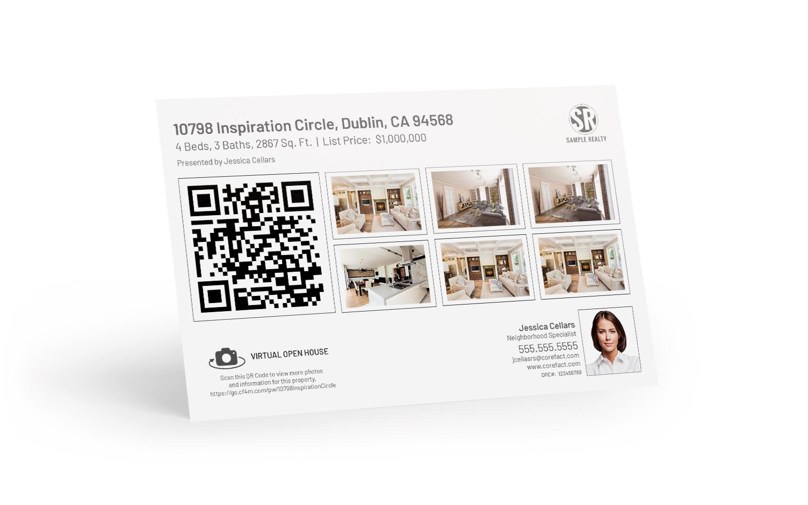 QR Code Postcard 3