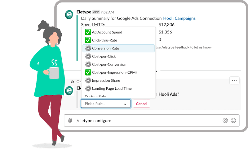 eletype google ads rule configuration