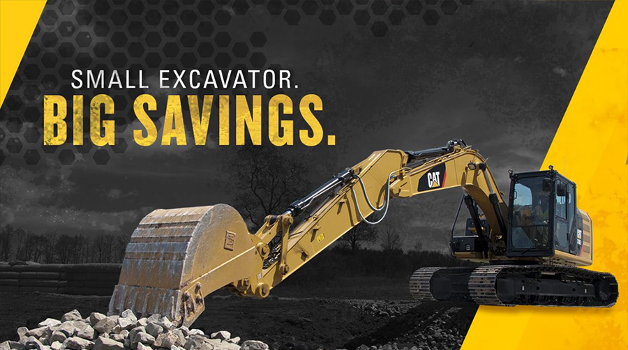 Big savings on mini excavators