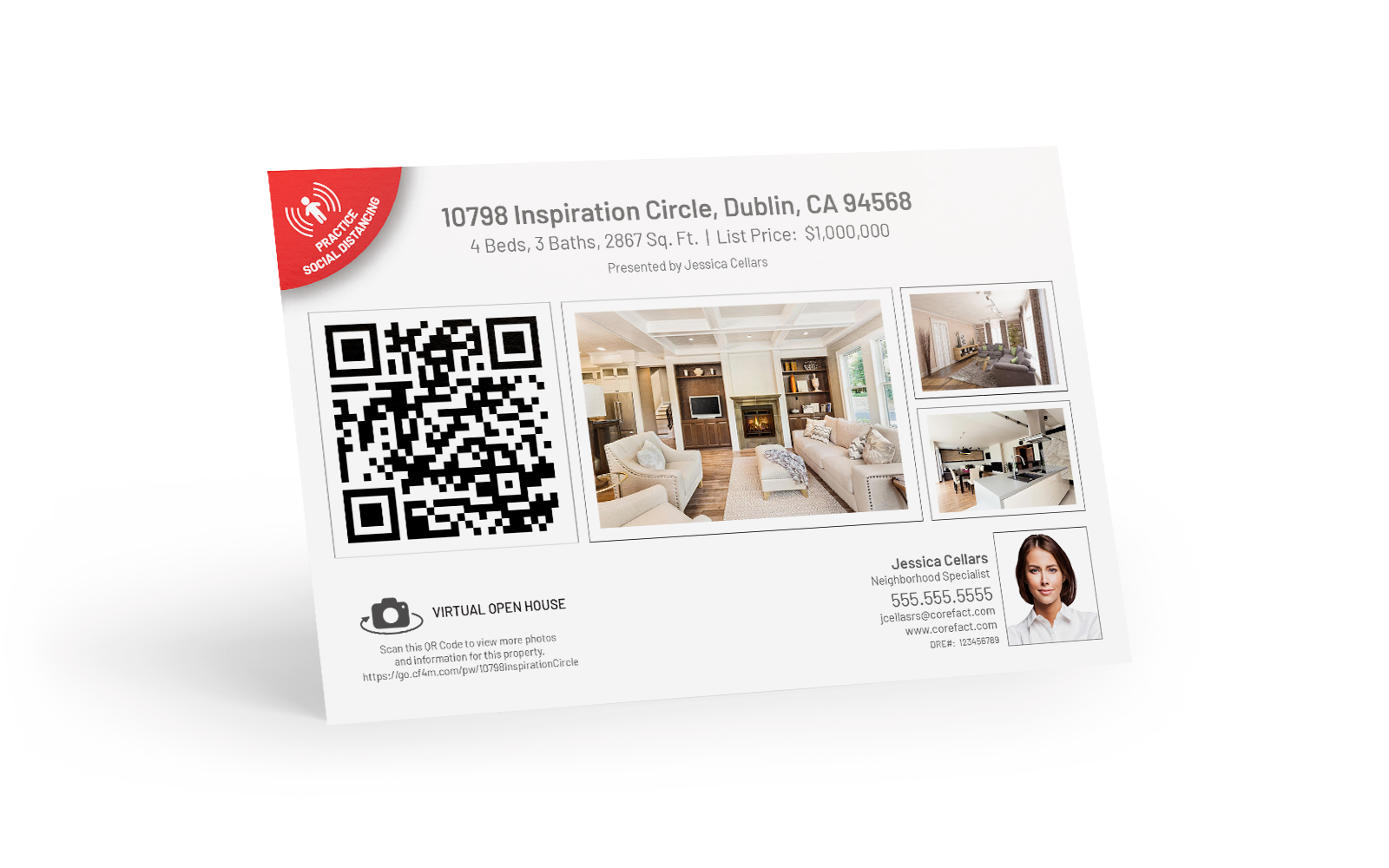 QR Code Postcard 1