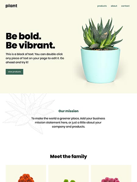 Sprout Makeswift template