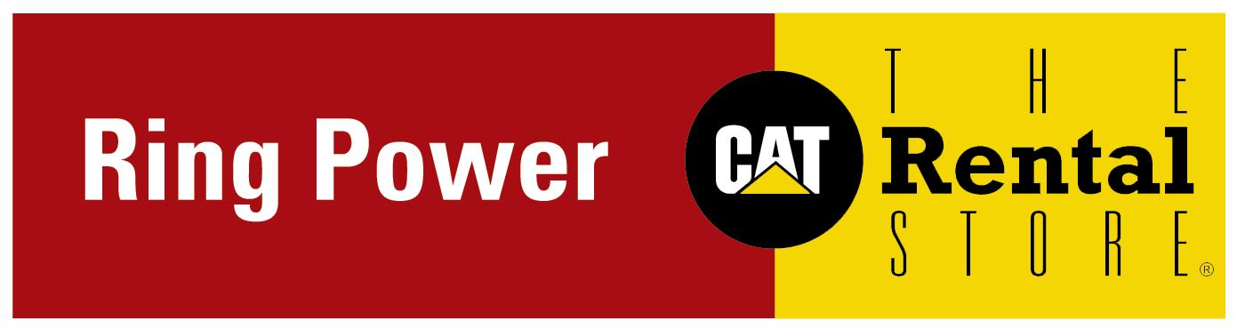 Ring Power Cat Rental Store Logo