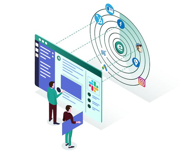 eletype digital marketing monitoring for slack