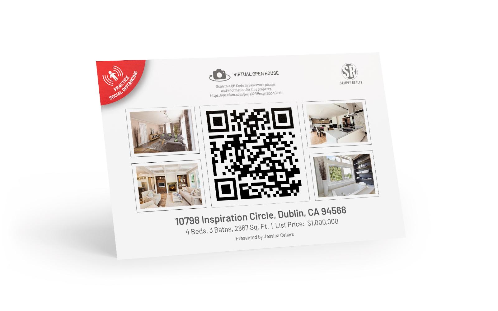 QR Code Postcard 2