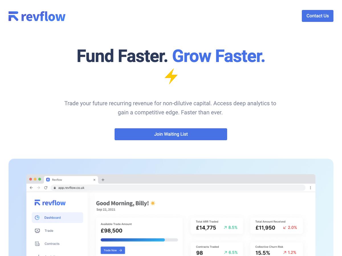 Revflow Website