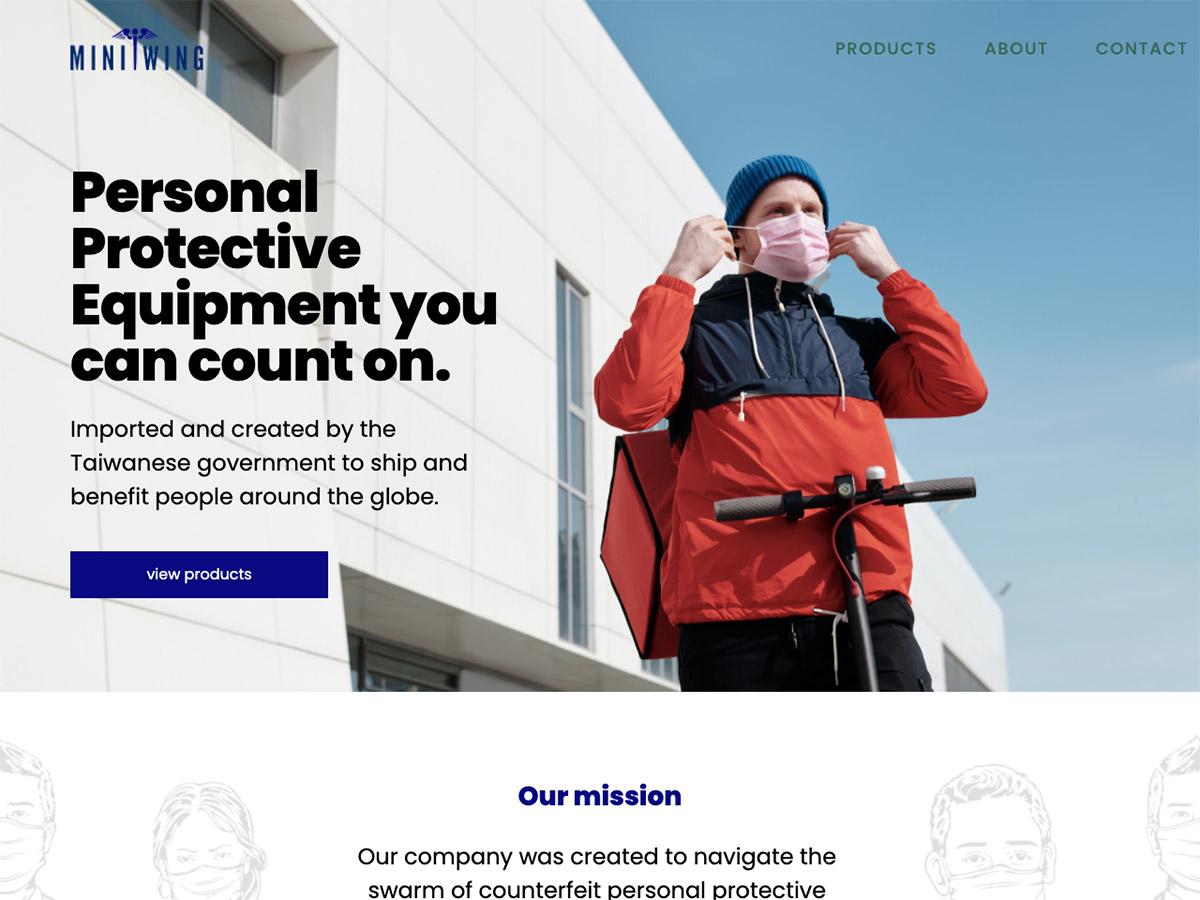 Miniwing Website