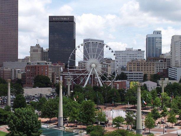 View of Centennial Park