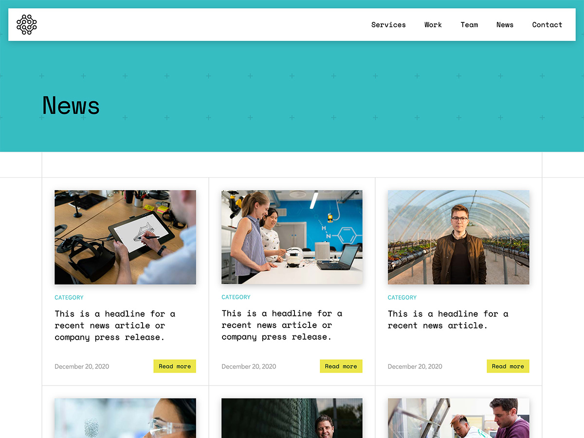 Makeswift Innovation business template news
