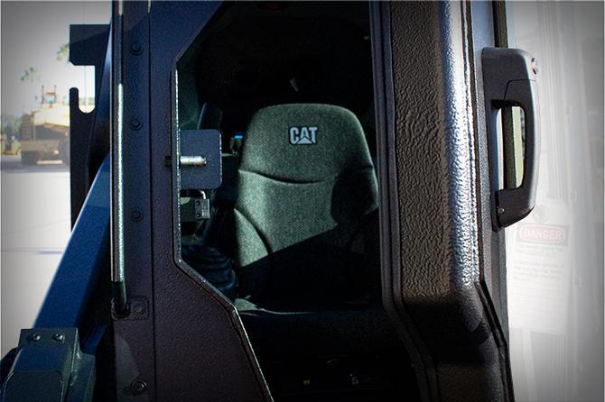 Cab overpressure system