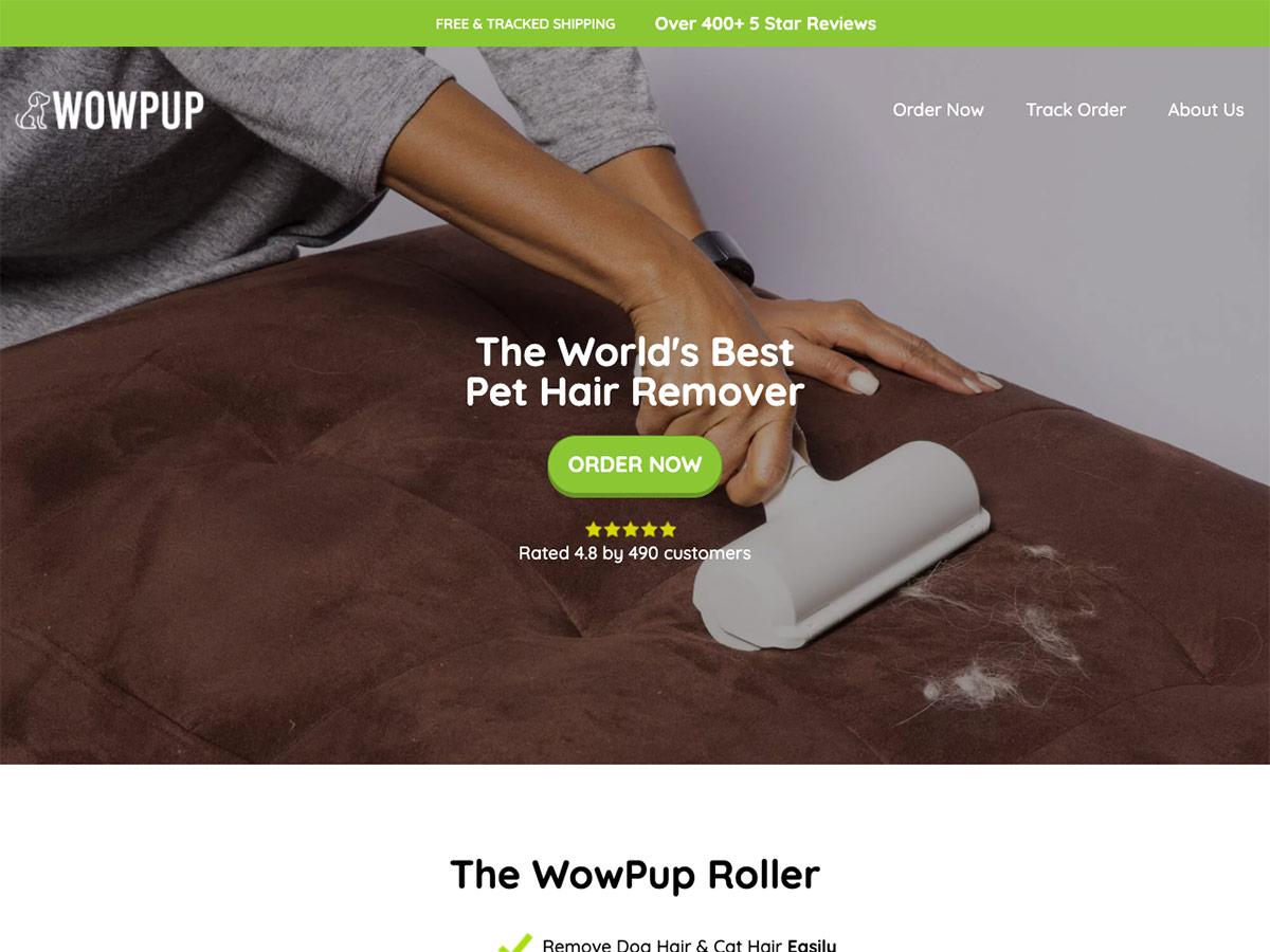 WowPup Website