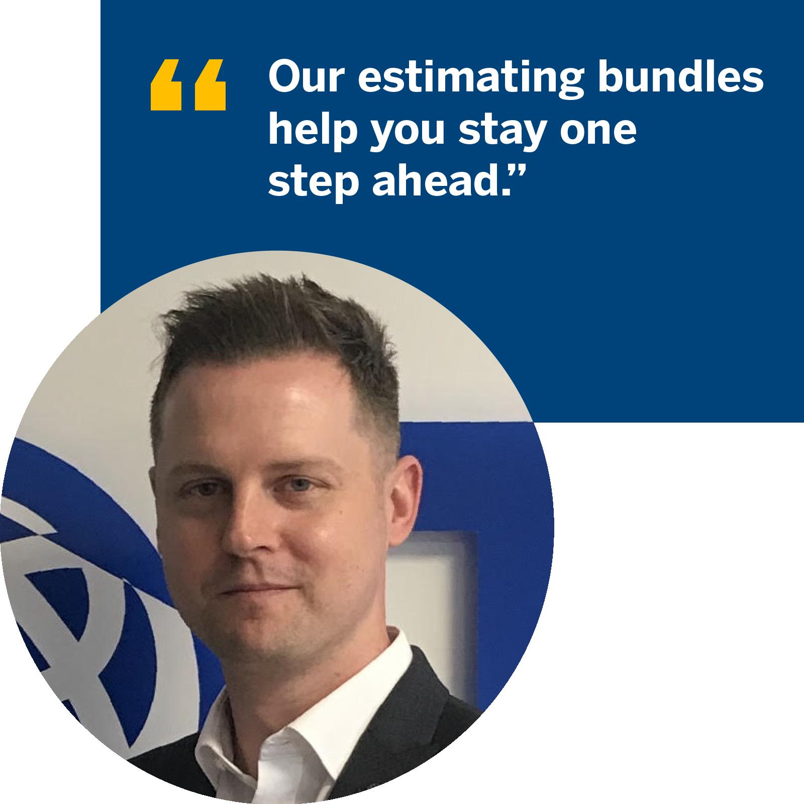 James Hardwick, UK Sales Director Trimble MEP